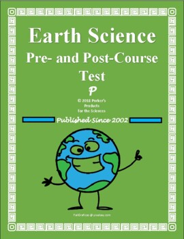 Pre- and Post-Course Test for Middle School Earth Science