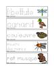 Pré-éciture des animaux des marais