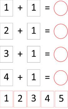 Pre entry maths workstation or practice folder ideas