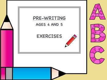 Pre-handwriting Exercises