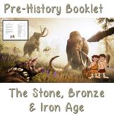 Pre-history workbook – Stone, Bronze and Iron Age