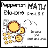 Pre-k & Kinder Math Stations