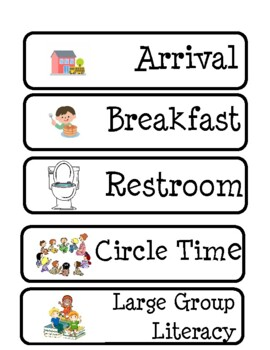 Free Printable Kindergarten Schedule