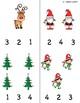 Pre-k and Kindergarten Math Activity Holiday Sample