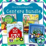 Pre-literacy Activity Bundle (Foods, Transportation, & Community Worker Themes)