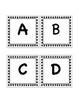 Pre-primer Black and White Stars Word Wall Set