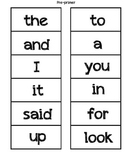 Pre-primer, Primer, 1st, 2nd, 3rd grade Word Wall Cards