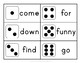 Pre-primer Sight Word Dice Roll - Ink Friendly Reading Game