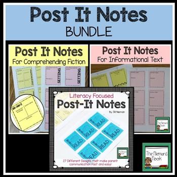 Pre-printed Notes BUNDLE!