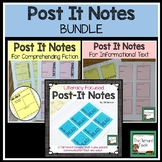 Sticky Note Templates for Reading BUNDLE!