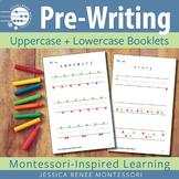 Pre-printing Skills Booklets Capital and Lowercase Strokes
