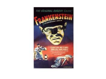 Pre-reading Frankenstein slides
