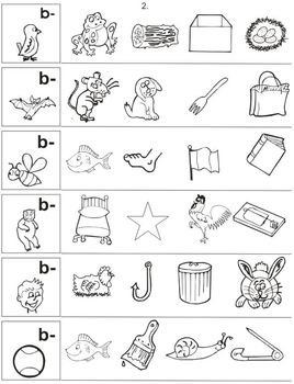 Pre-reading Practice – Differences and Similarities – Sounds