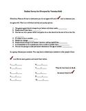 Pre-reading Survey for Divergent
