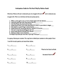 Pre-reading Survey for The Book Thief