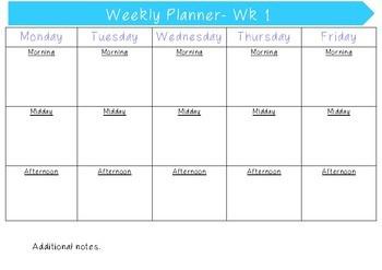 Pre-service Teacher Prac Planner 1.0