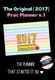 2017 Pre-service teacher prac planner (Australia - Primary)