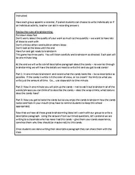 Pre-writing Lesson Plan
