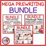 PREWRITING MEGA MEGA MEGA BUNDLE Alphabet, Numbers and Sha