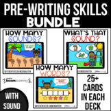 Pre-writing Skills Bundle for Boom Cards