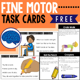 Improve Fine Motor Skills Task Cards