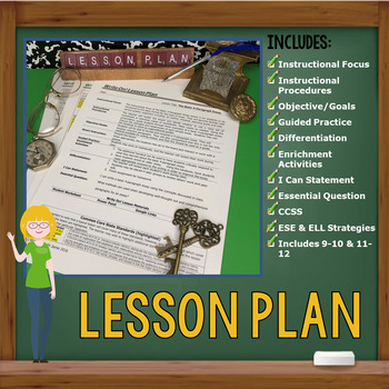 GENERAL STATEMENT & DETAIL STATEMENTS - Introduction to Writing - High School