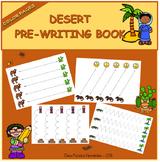 Pre-writing book - Desert / Trazos Desierto