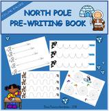 Pre-writing book - North Pole / Trazos Polo Norte