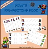 Pre-writing book - Pirates / Trazos Piratas
