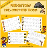 Pre-writing book - Prehistory / Trazos Prehistoria