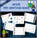 Pre-writing book - SPACE / Trazos EL ESPACIO