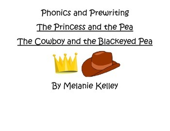 Pre-writing for The Princess and the Pea