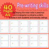 Pre-writing skills Tracing Activities Tracing Lines Fine Motor Skills Preschool