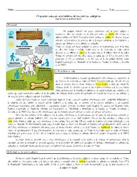 PreAP/AP Desafios Mundiales - Lectura de UNAM - Perros Callejeros