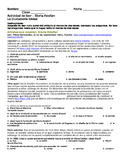 PreAP, AP Spanish – Gloria Estefan Reading (identidad, ciu
