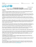 PreAP, AP Spanish Reading – Sergio Ramos UNICEF (ciudadaní