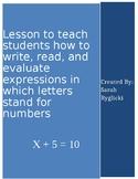 PreAlgebra Lesson