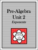 Pre-Algebra Curriculum - Unit 2: Exponents