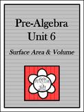 Pre-Algebra Curriculum - Unit 6: Surface Area and Volume