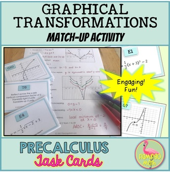 Graphical Transformations Match Up Activity (PreCalculus - Unit 1)