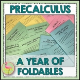 PreCalculus Curriculum A Year of Foldables™