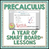 PreCalculus A Year of SMART Board® Lessons