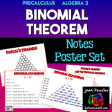 Binomial Theorem    Posters  Handouts  Interactive Notebooks