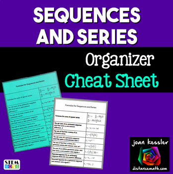 Sequences and Series Cheat Sheet