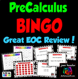 PreCalculus BINGO Interactive Review