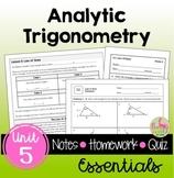 Analytic Trigonometry Essentials (PreCalculus - Unit 5)