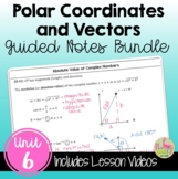 Applications of Trigonometry Guided Notes (PreCalculus - Unit 6)