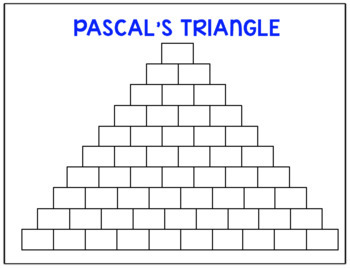 PreCalculus Binomial Theorem and Pascal's Triangle Task Cards and Quiz