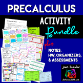 PreCalculus Bundle of Activities for your Curriculum