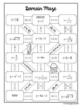PreCalculus Bundle of Mazes
